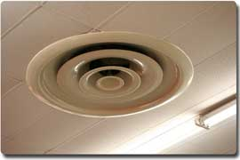 air conditioning ceiling register